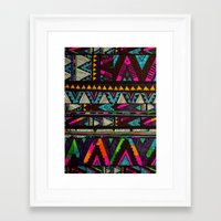 coasters Framed Art Prints featuring ▲HUIPIL▲ by Kris Tate