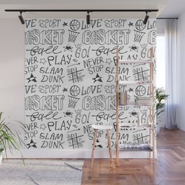 Basketball. Go! Wall Mural