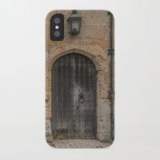 castle door... iPhone X Slim Case