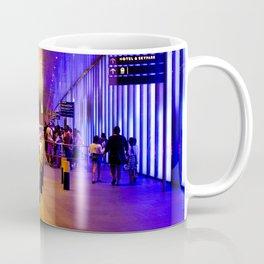 Neon lights and waiting your turn Coffee Mug