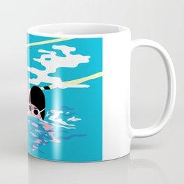 Swimming High Coffee Mug