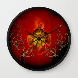 The god Ganesha Wall Clock