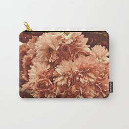 Vintage Ornamental Plum Blossoms Carry-All Pouch