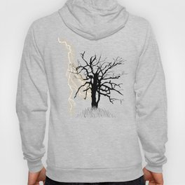 Gnarled Tree and Lightning Hoody