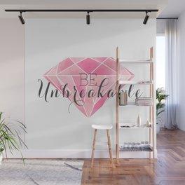 Be Unbreakable (Pink Diamond) Wall Mural