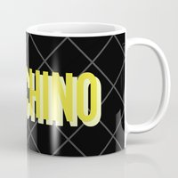 moschino Mugs featuring MOSCHINO Quilted Bag by RickyRicardo787