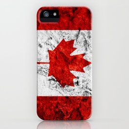 Canada Day Flag Canadian July 1st Vertical iPhone Case