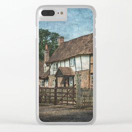 An Oxfordshire Village Clear iPhone Case