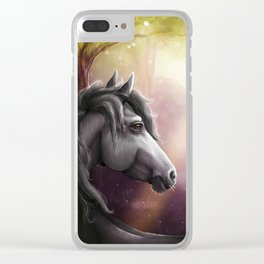 Magical glade Clear iPhone Case