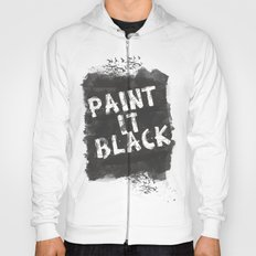 Paint It Black Hoody