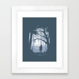 Ellie Hunting Framed Art Print