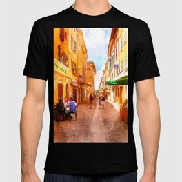 Medieval street in Provence T-shirt