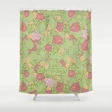 ¿eres normal? Shower Curtain