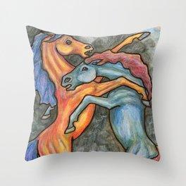Thunder Throw Pillow