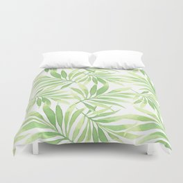 Tropical Branches Pattern 10 Duvet Cover