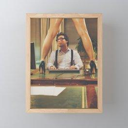 Sexy Man at work #G8800 Framed Mini Art Print