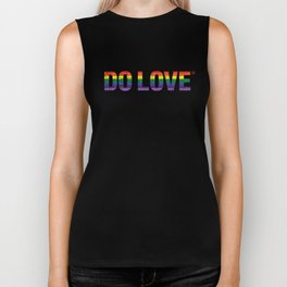 Do Love Rainbow Biker Tank