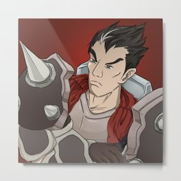 Darius Icon Metal Print