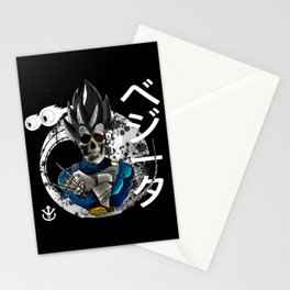 SKULL VEGETA Stationery Cards