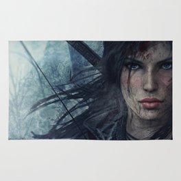 Wild Lara Croft Rug
