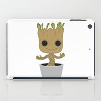 groot iPad Cases featuring Little Groot by Pete