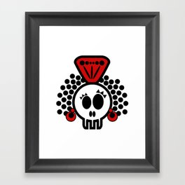 ***I´LL CARRY  on DANCING FLAMENCO even in  the GRAVE*** Framed Art Print