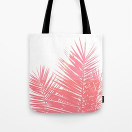 Plant Life in Pink Tote Bag