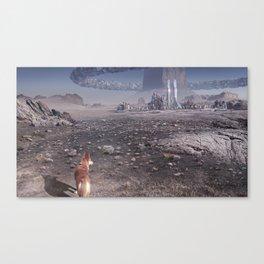 Monolith City Canvas Print