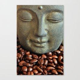 Coffee Buddha 3 Canvas Print
