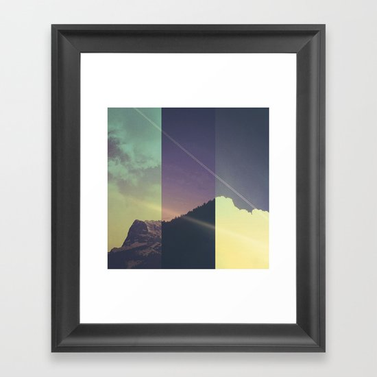 Alternate Realities Framed Art Print
