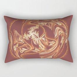 Fractal Abstract Sphere Rectangular Pillow