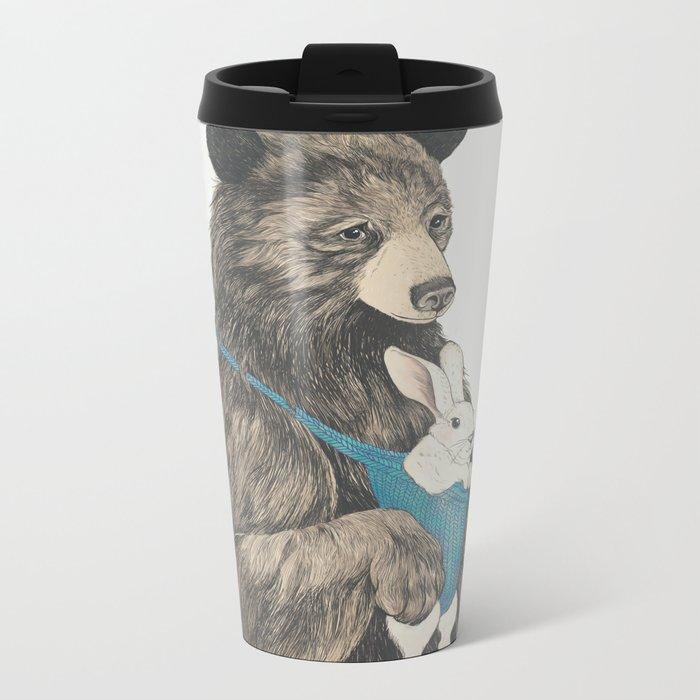 the bear au pair Metal Travel Mug