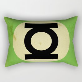 Green Lantern (Super Minimalist series) Rectangular Pillow