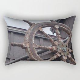 Ship Helm Rectangular Pillow