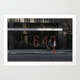 That's how many times. Art Print