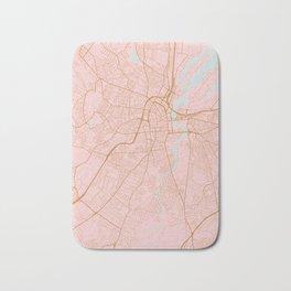 Belfast map, Northern Ireland Bath Mat
