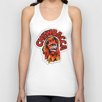 chewbacca Tank Tops featuring Chewbacca by Popp Art