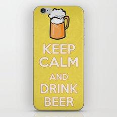 Keep Calm - Saint Patrick's Day Poster 02 iPhone & iPod Skin