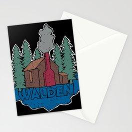 Walden - Henry David Thoreau (Coloured textured version) #society6 #decor #buyart Stationery Cards