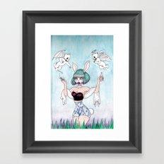 m o r a l s Framed Art Print