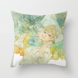 world without you Throw Pillow