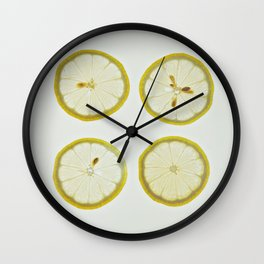 Lemon Square Wall Clock