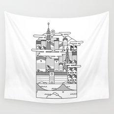 TOKYO Wall Tapestry