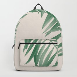 Palm Tropical Green Gardenia Backpack