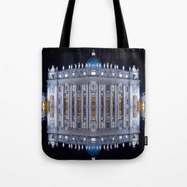 Vatican City Reflexion Tote Bag