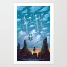 The Vault of Heaven Art Print