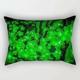 Green garlands Rectangular Pillow