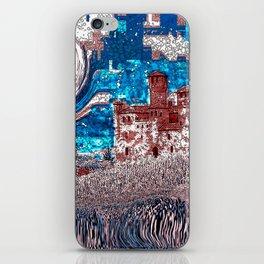 Castello Langhe -Art Digital Original- iPhone Skin