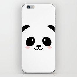Baby panda emoji iPhone Skin