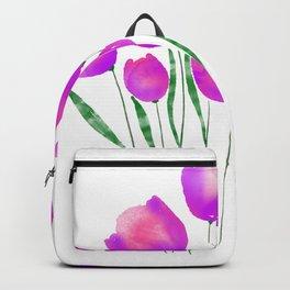 Watercolour Flower SUSA Custom Backpack
